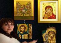 Σε έκθεση της Βιέννης η αγιογράφος Σταματούλα Καλογιάννη