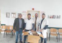 Ενίσχυση του Δήμου και του Περιφερειακού Ιατρείου Αλοννήσου με υγειονομικό υλικό